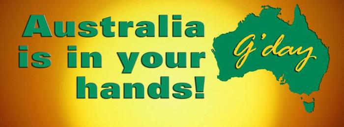 KARENS IMAGE AUSTRALIA IS IN YOUR HANDS