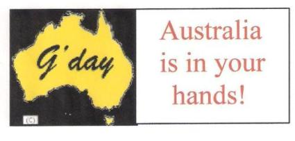 AUSTRALIA IS IN YOUR HANDS! 001